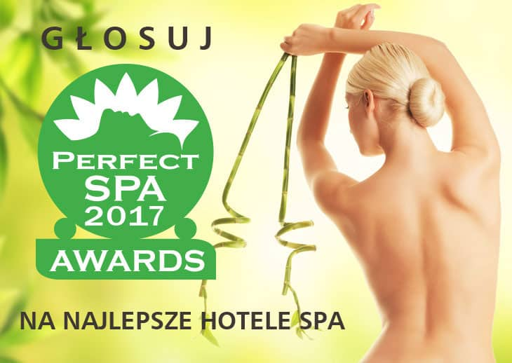 baner Perfect SPA Awards 2017 HOTELE