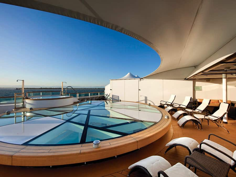 SPA na jachtach seabourn odyssey quest spa terrace